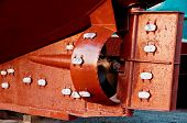 Rudder And Propeller Of A Fish Trawler