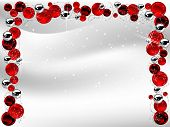 Red Christmas Garland