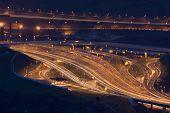 Motorway, Portugalete, Bizkaia, Basque Country, Spain