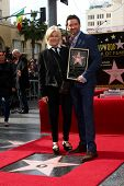LOS ANGELES - DEC 13:  Deborra-Lee Furness, Hugh Jackman at the Hollywood Walk of Fame ceremony for
