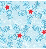 Star And Snow Flakes Pattern