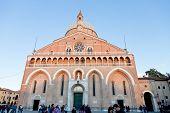 Front View Of Basilica Di Sant Antonio Da Padova, In Padua, Italy
