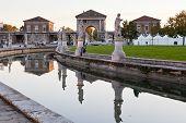 Canal na Piazza de Prato Della Valle, Pádua