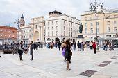 Piazza Garibaldi In Parma, Italy