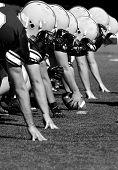 American Football Linemen