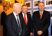 Patrick Joseph Hickey, Grygorii Surkis And Jacques Rogge