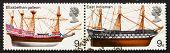 Postage Stamp Gb 1969 Elizabethan Galleon And East Indiaman, Bri
