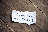 Thank God It's Friday!