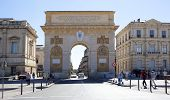 MONTPELLIER, FRANCE - AUGUST 14: Arc de Triomphe de Montpellier on on august 14, 2013 in Montpellier