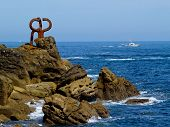 stock photo of basque country  - Sculpture  - JPG