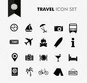Travel Fresh Icon Set.