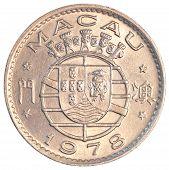 Macanese pataca coin