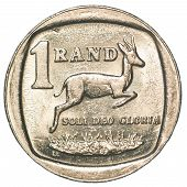 One South African Rand Coin