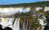 The wonderful Iguazu waterfalls