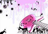 Estilo Grunge de Guitarra loca