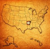 Arkansas On Map Of Usa