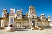 stock photo of swami  - Sri Raghunath Swamy temple in Pushkar - JPG