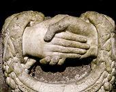 Handshake Statue