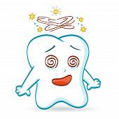 Cartoon of a Tooth