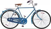 Old Style Retro Bicycle