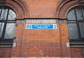 Temple Bar Sign in Dublin Ireland