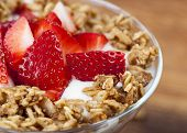 Strawberry and yogurt Parfait
