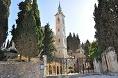 Church Of Visitation In Ein Karem Jerusalem