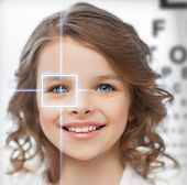 stock photo of ophthalmology  - future technology - JPG