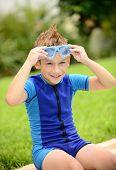 Summer Swim Child