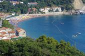 Petrovac is a popular summer beach resort, its visitors coming predominantly from Montenegro and Ser