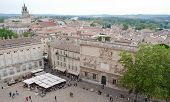 The Central Square Of Avignon