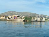 Urso Boats On Lake Titicaca