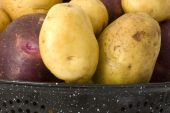 Organic Yukon Gold & Blue Potatoes