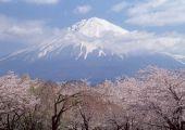 Japan Hakone berg Fuji
