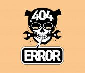stock photo of not found  - 404 error - JPG