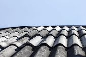 Roof Of Gray Tiles