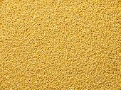 Couscous Seeds Flat Food Background
