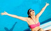 Blissful Summer Woman