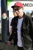 PASADENA - JAN 1: John McEnroe is seen at the Rose Bowl on January 1, 2014 in Pasadena, California