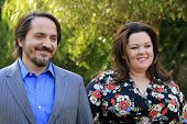 PALM SPRINGS, CA - JAN 5: Ben Falcone, Melissa McCarthy at the 10 Directors to Watch brunch at The Parker Hotel on January 5, 2014 in Palm Springs, California