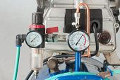 Pressure Gauge And Air Filter Regulator