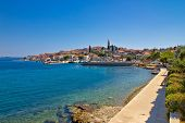 pic of kali  - Coastal town of Kali skyline Island of Ugljan Dalmatia Croatia - JPG