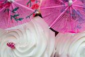 Meringue Cocktail Umbrella