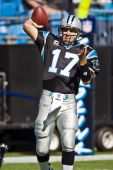 Jake Delhomme Nfl New Orleans Santos Vs Carolina Panthers
