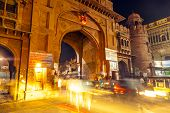 Gate In The Old City Of Bikaner Rajasthan State In India