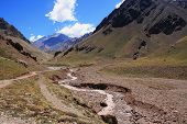 foto of aconcagua  - Argentina National Park - JPG