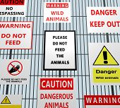 Animal Warning Signs