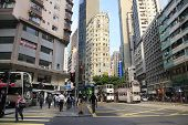 Central District In Hong Kong