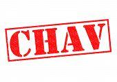 Chav Rubber Stamp
