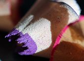 Purple and Pink Pencil Shavings